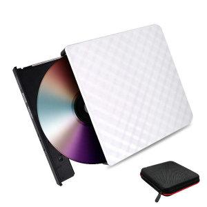 림스테일 USB3.0 외장ODD DVD RW CD롬 외장 - 화이트
