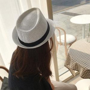 (엔비(envy)) 엔비 페도라햇 여성 밀짚 왕골 여름 모자