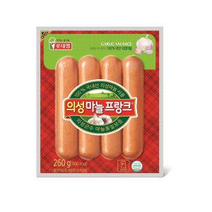 (1+1)롯데_의성마늘프랑크_260G