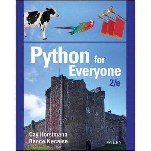 Python for Everyone  Horstmann  Cay  Necaise  Rance