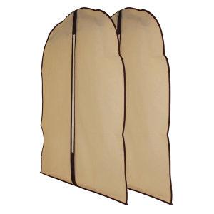 부직포 옷커버 중 양복 수납 통풍 의류보관용
