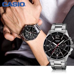 카시오 MTP-1374D-1A  패션 남성 메탈 시계