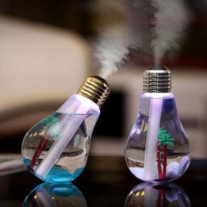 LED 전구 USB 사무실 휴대용 미니 환절기 가습기 골드