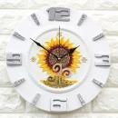 인테리어 무소음시계 써니해바라기(S)/결혼선물장식품