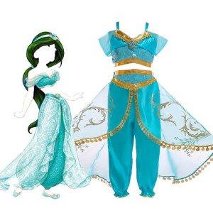 알라딘 의상 자스민 공주 드레스 캐릭터 의상