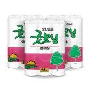 굿모닝 엠보싱 40m 24롤 3팩 화장지 무료배송
