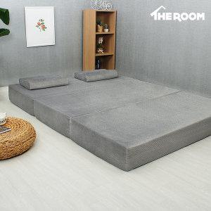 3단접이식 메모리폼 매트리스 더룸 20센치 싱글 침대