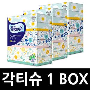 각티슈 1BOX (200매 24개) 곽티슈 미용티슈