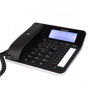 모토로라 유선전화기 C7201R 블랙 발신자표시 사무용