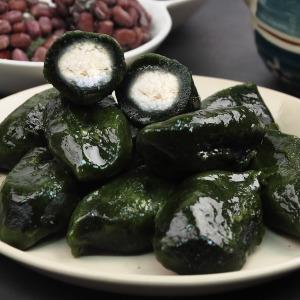 (모시올)영광 모싯잎 송편/개떡/찹쌀떡/인절미/떡