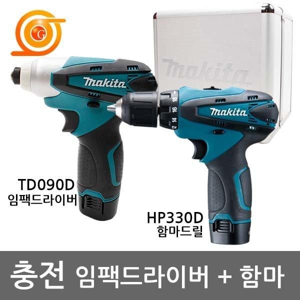 마끼다 DK1493 충전콤보세트 10.8V 1.3AH TD090+HP330