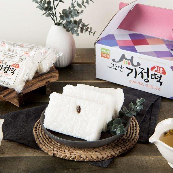 제조방법특허 정통광양기정떡 백미 2.7kg