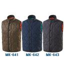 겨울작업근무단체 경량 패딩조끼 MK-641 642 643