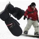 리에노 방수 방한 벙어리 장갑 보드 스키 겨울 혹한기