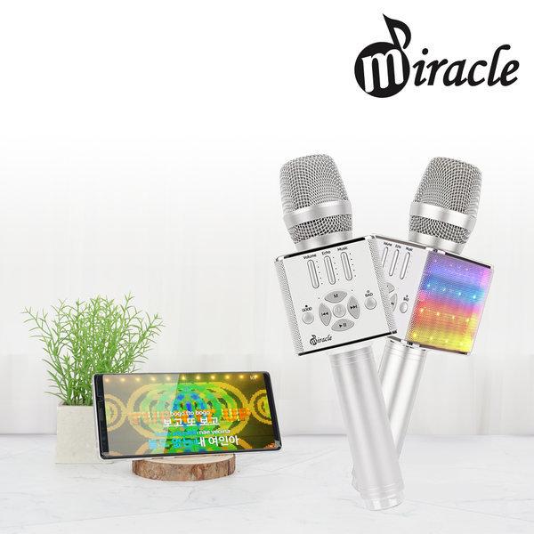 미라클 M90 고급형 4종효과음 블루투스 노래방마이크