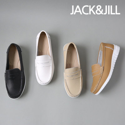 [jack&jill] 잭앤질 소가죽 드라이빙 스트랩 로퍼(JC9587)