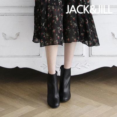 [jack&jill] 잭앤질 8cm 지퍼 하이힐 앵클 부츠(JC9642)