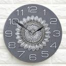 인테리어시계 스톤해바라기(Gy)/집들이 개업선물 소품