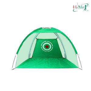 골프 그린 텐트형 네트 2M 골프 스윙 연습용품 연습망