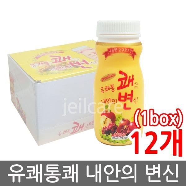 프리미엄 유쾌통쾌 내안의변신 100ml 12병/쾌변/푸룬