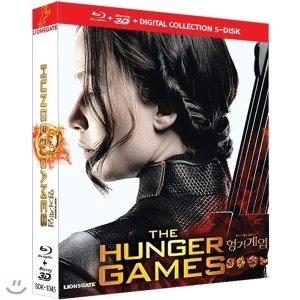 헝거게임 1 2 3 4 (BD+3D) COLLECTION : The Hunger Games-5disc  게리 로스  제니퍼 로렌스  조쉬...