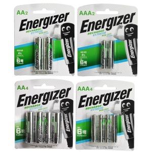 에너자이저 충전지 AA / AAA / 2알 / 4알 / 건전지