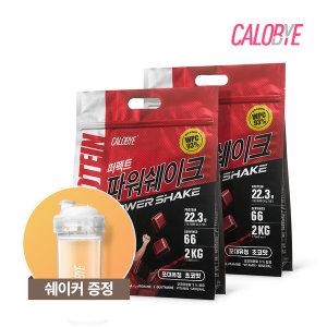 칼로바이 퍼펙트파워쉐이크 포대유청 WPC 초코맛 2개