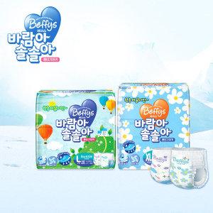 초슬림핏 바람아솔솔아 팬티기저귀 6팩