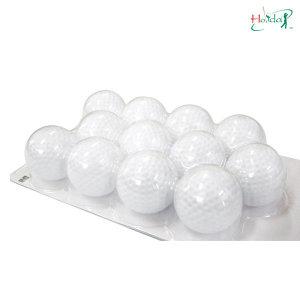 플라스틱 골프공 볼 실내 골프 연습용품 (12개 1SET)