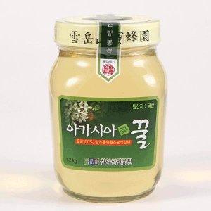 설악산밀봉원 아카시아꿀1.2kg 꽃꿀100퍼센트