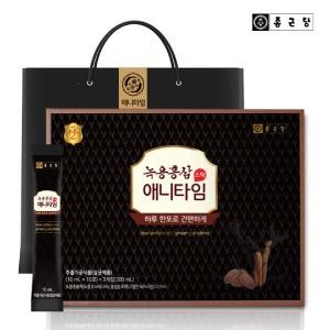 (현대Hmall) 종근당  녹용홍삼 애니타임 (10mlx30포) 3박스