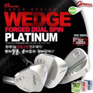 名品 브랜드 2019 Houma PLATINUM FORGED DUAL SPIN 스핀밀드 단조 웨지/트루템포 샤프트/커버이벤트