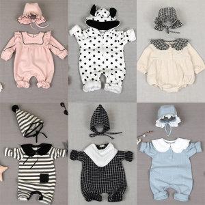 북유럽스타일 유아복 신생아옷 북유럽우주복  실내복