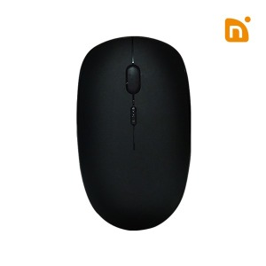 무선 무소음 마우스 NG01 블랙