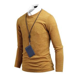 남자 스웨터 베이직 필수 라운드넥 남성 니트 ts2109
