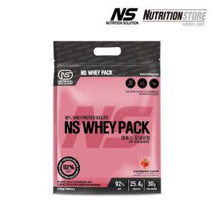 NS포대유청 WPI 단백질 헬스보충제 프로틴 딸기 2kg