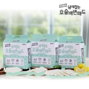 오플  페츠모아 냄새 잡는 요술 배변 패드 300매
