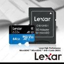 렉사 MicroSD 633배속 64GB 메모리 정품