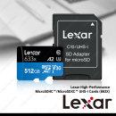 렉사 MicroSD 633배속 512GB 메모리 정품 고속 AS보증