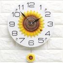 인테리어시계 스톤해바라기K/집들이개업선물 장식소품