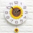 인테리어시계 스톤해바라기S/집들이개업선물 장식소품