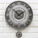 인테리어 무소음시계 해피해바라기(S)/결혼선물장식품