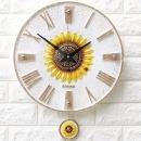 인테리어시계 로마해바라기(W)/집들이 개업선물 소품