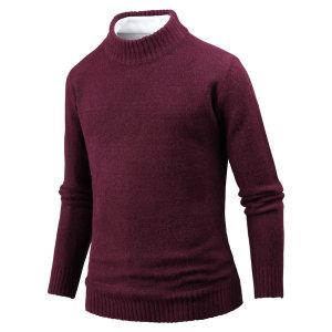 남성 스웨터 베리솝 반 목폴라티 남자 니트 ts4149