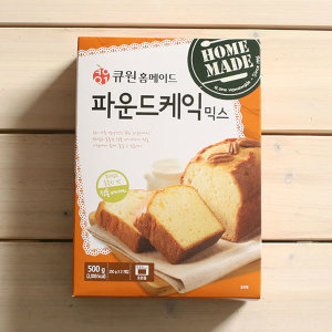 큐원 파운드케익믹스 / 파운드케익 만들기 홈베이킹