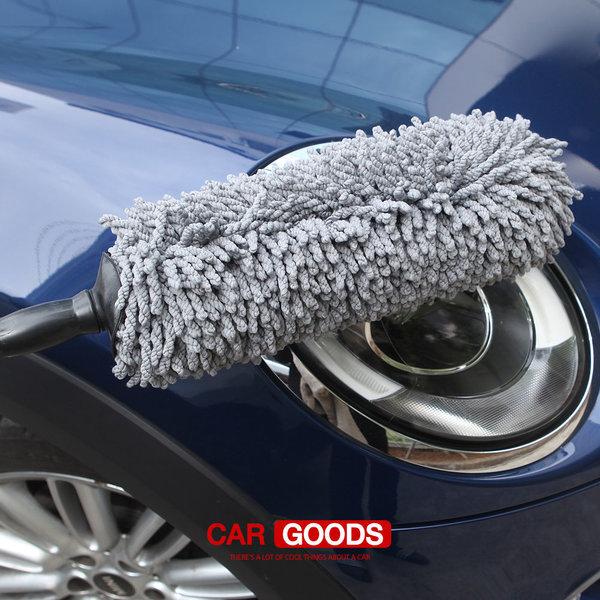 차량먼지털이개 먼지털이 초극세사 차량털이개 차량용