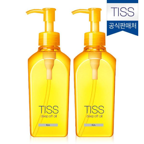 공식판매처 TISS 딥오프 딥클렌징오일230ml 노란티스2개