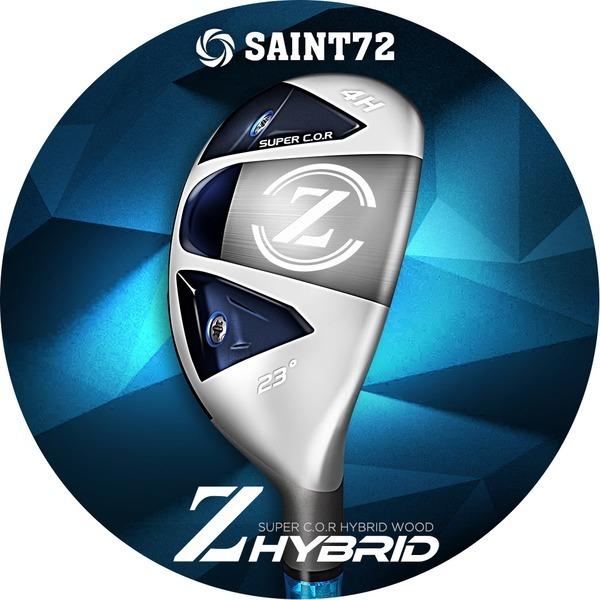 세인트72 20년신형 Z 고반발 하이브리드 유틸리티우드