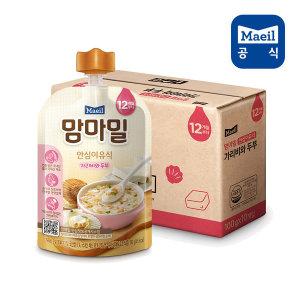 맘마밀 가리비와두부 100g 10팩 (12개월)/이유식