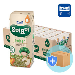 요미요미 종합야채 유기농주스125ml24입/아기간식